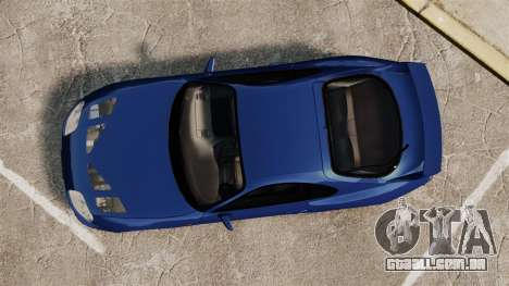 Toyota Supra MKIV TRD 1995 para GTA 4 vista direita