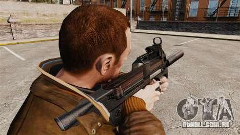 V1 de pistola-metralhadora belga FN P90 para GTA 4 segundo screenshot