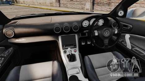 Nissan Silvia S15 v3 para GTA 4 vista de volta