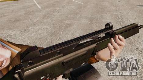 Fuzil de assalto MG36 H & K v2 para GTA 4 por diante tela