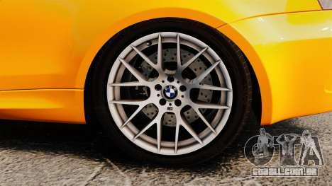 BMW 1M Coupe 2011 Fujiwara Tofu Shop Sticker para GTA 4 vista interior
