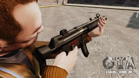 MP5SD metralhadora v5 para GTA 4 segundo screenshot