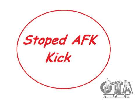 AntiAFK Bot 2.1.6 by Ruskadanace para GTA San Andreas
