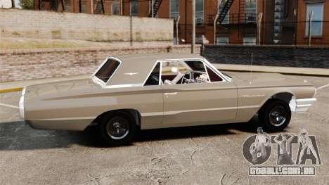 Ford Thunderbird 1964 para GTA 4 esquerda vista