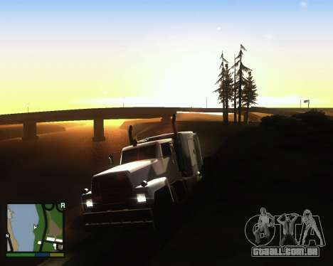 ENB for low PC para GTA San Andreas segunda tela