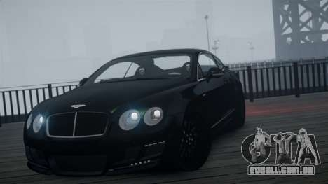 Bentley Continental GT Hamann Imperator para GTA 4 vista direita