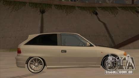Opel Astra F DRP para GTA San Andreas
