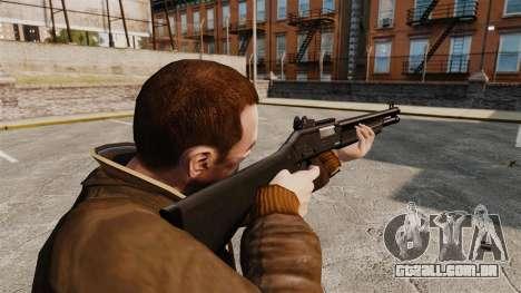 Tática espingarda Fabarm SDASS forças Pro v1 para GTA 4 segundo screenshot