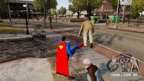 Script para o Super-homem para GTA 4 terceira tela