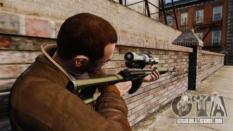 Dragunov sniper rifle v3 para GTA 4 segundo screenshot