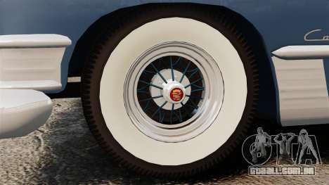 Cadillac Series 62 convertible 1949 [EPM] v3 para GTA 4 vista de volta