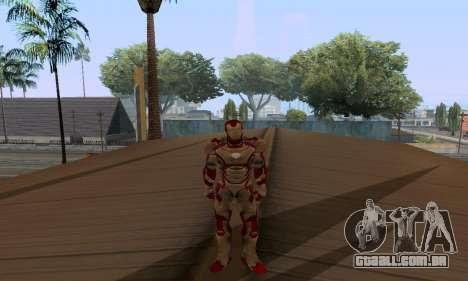 Skins Pack - Iron man 3 para GTA San Andreas twelth tela
