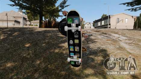 Skate iPhone para GTA 4 vista direita