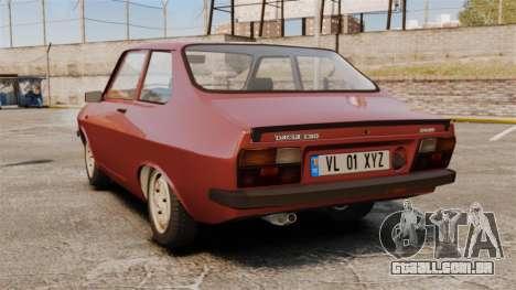 Dacia 1310 Sport v1.1 para GTA 4 traseira esquerda vista