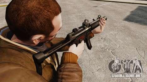 MP5SD metralhadora v2 para GTA 4 segundo screenshot