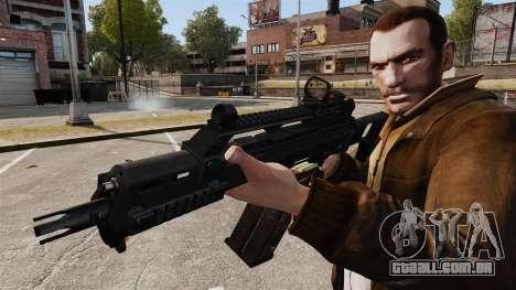 HK G36c para GTA 4 por diante tela