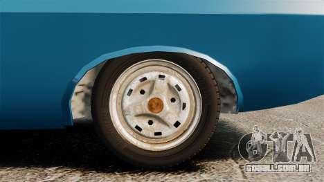 Dacia 1310 Sport v1.2 para GTA 4 vista de volta