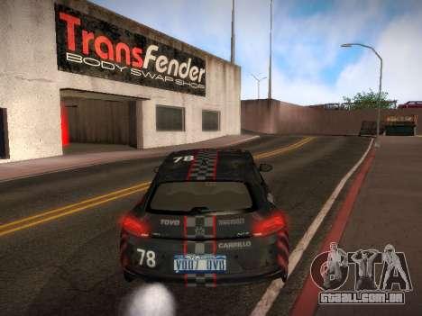 Volkswagen Scirocco para as rodas de GTA San Andreas