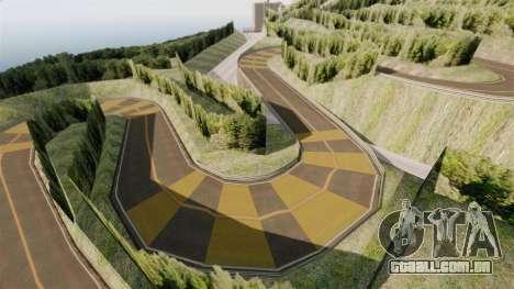 Novo local de Hakone para GTA 4 quinto tela