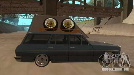 New Peren Hellaflush para GTA San Andreas traseira esquerda vista
