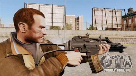 HK G36c para GTA 4