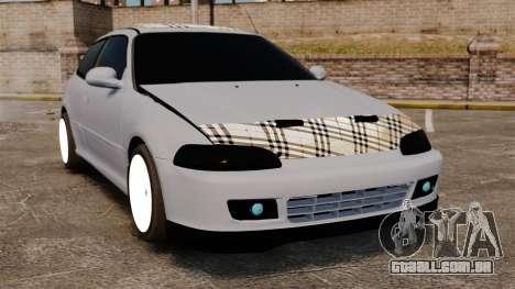 Honda Civic Gtaciyiz para GTA 4
