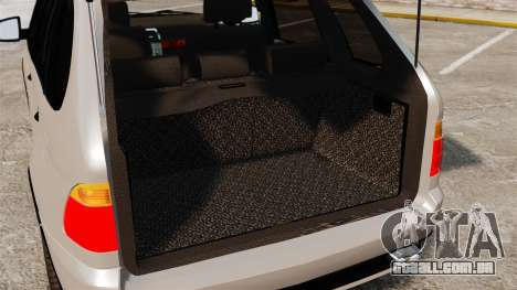 BMW X5 4.8iS v2 para GTA 4 vista interior
