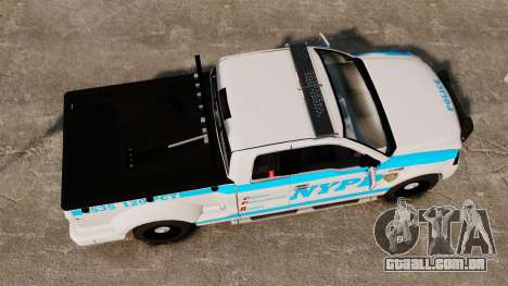 Ford F-150 v3.3 NYPD [ELS & EPM] v1 para GTA 4 vista direita
