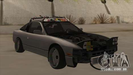 Nissan 240SX Rat para GTA San Andreas esquerda vista