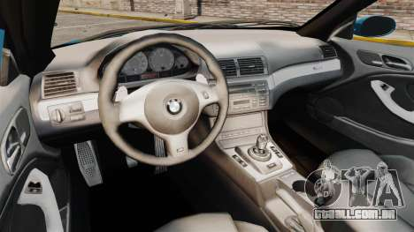 BMW M3 E46 para GTA 4 vista interior