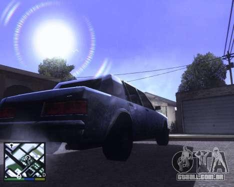 ENB for low PC para GTA San Andreas terceira tela