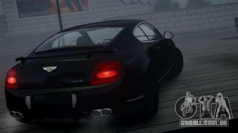 Bentley Continental GT Hamann Imperator para GTA 4 vista de volta