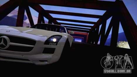 SA_Extend para GTA San Andreas por diante tela