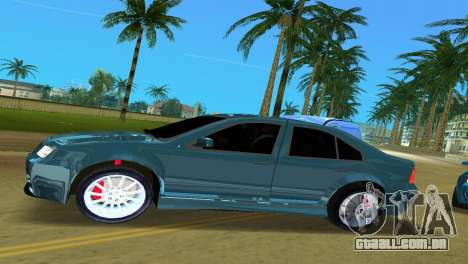 Volkswagen Bora para GTA Vice City deixou vista