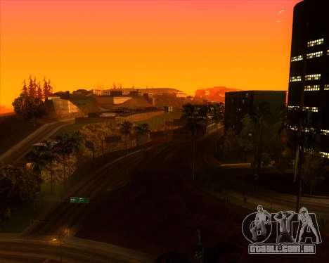 ENBSeries by MatB1200 para GTA San Andreas por diante tela