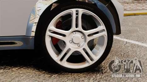 Mini Cooper S 2008 v2.0 para GTA 4 vista de volta