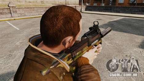 V5 de pistola-metralhadora belga FN P90 para GTA 4 segundo screenshot