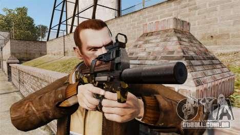 V6 de pistola-metralhadora belga FN P90 para GTA 4 terceira tela