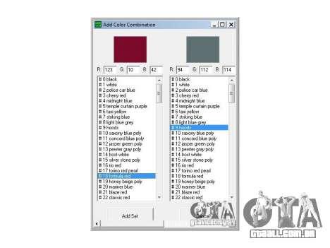 Máquinas de cores editor universal para GTA San Andreas terceira tela
