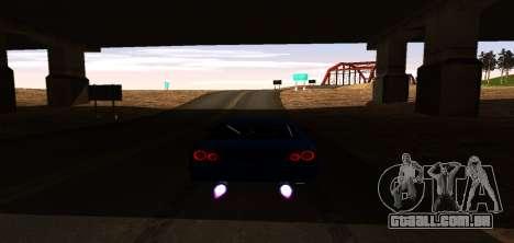 ENB Graphic Mod para GTA San Andreas sexta tela