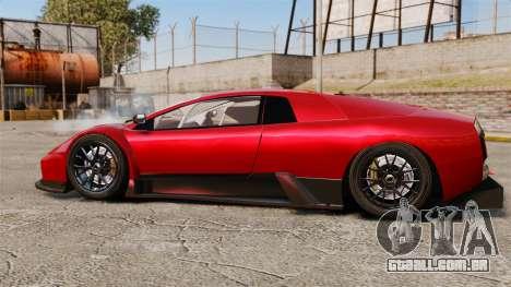 Lamborghini Murcielago RGT para GTA 4 esquerda vista