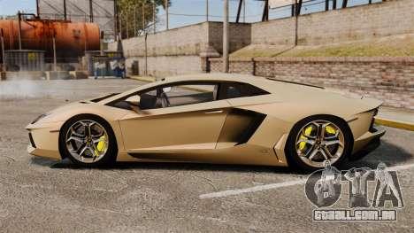 Lamborghini Aventador LP700-4 2012 v2.0 para GTA 4 esquerda vista