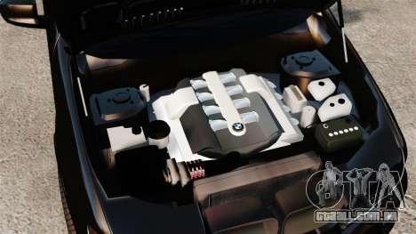 BMW X5 4.8iS v1 para GTA 4 vista interior