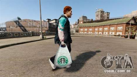 Os pacotes de logotipo Starbucks Coffee para GTA 4