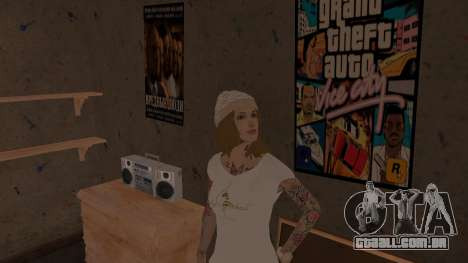 Willy Wonky para GTA San Andreas segunda tela