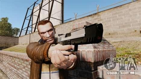 Carregamento automático pistola USP H & K v6 para GTA 4 terceira tela