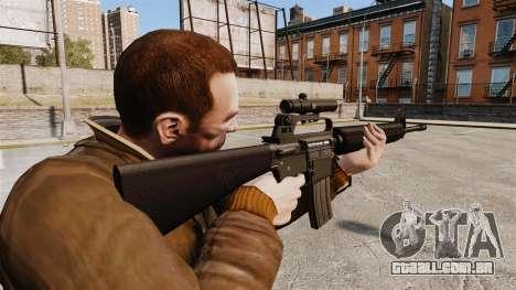 M16 A2 para GTA 4 segundo screenshot