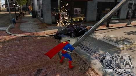 Script para o Super-homem para GTA 4 sexto tela