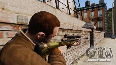 Rifle sniper Sako TRG-42 para GTA 4 segundo screenshot