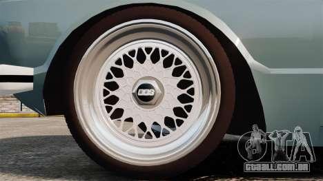 Volkswagen Brasilia para GTA 4 vista de volta